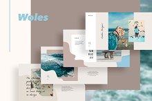 WOLES Keynote Template by  in Keynote