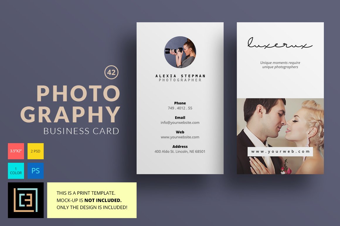 Photography business card 42 business card templates creative photography business card 42 business card templates creative market colourmoves