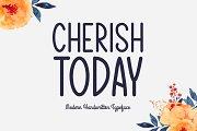 Cherish Today Typeface
