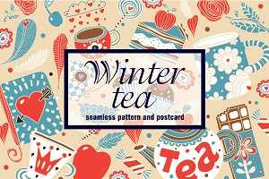 Winter tea time.