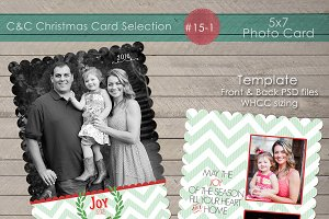 Christmas Photo Card Collection 15-1