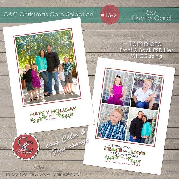 Christmas Photo Card Collection 15-2