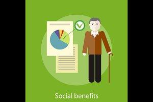 Social Benefits Concept
