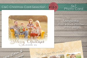 Christmas Photo Card Collection 15-5