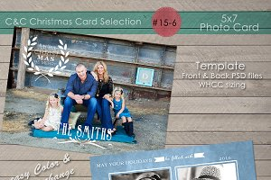 Christmas Photo Card Collection 15-6