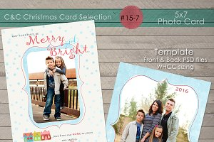 Christmas Photo Card Collection 15-7