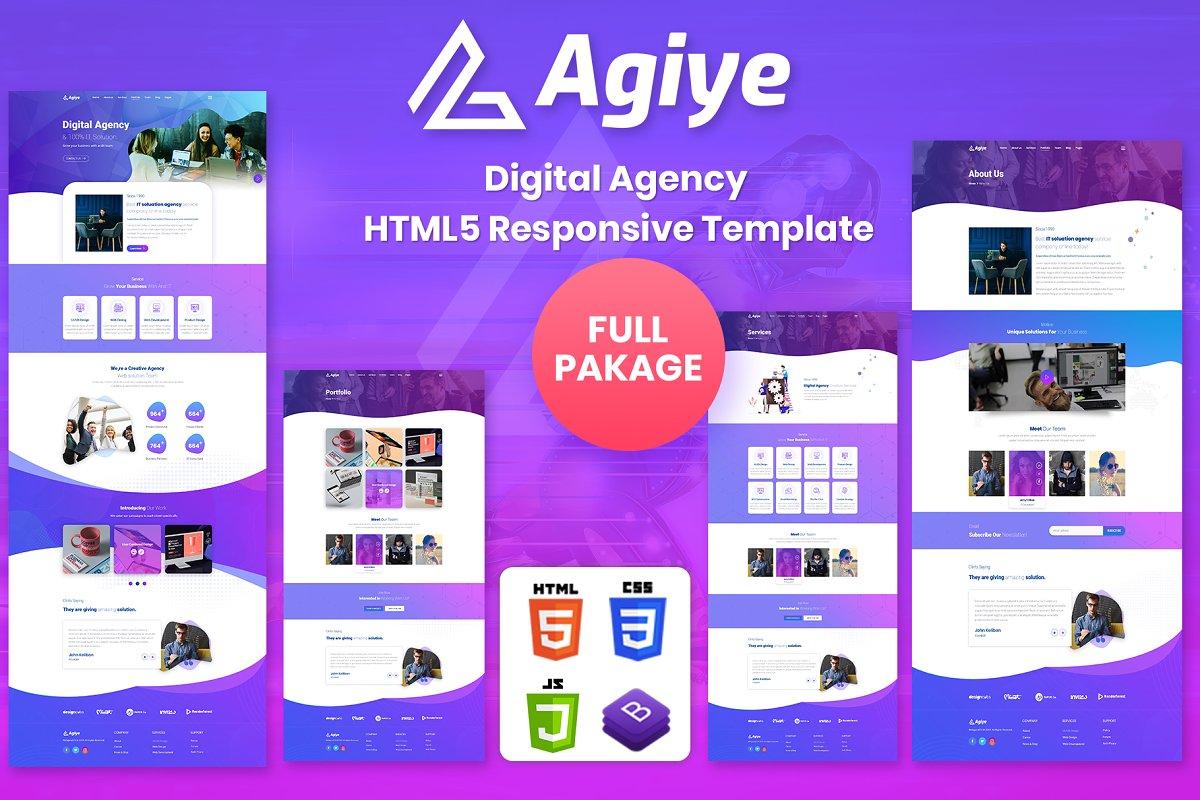 Agiye | Creative Digital Agency Html