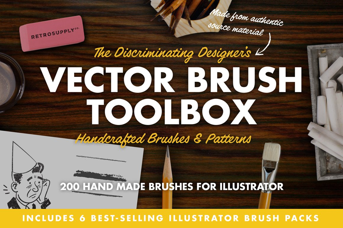 the vector brush toolbox 2