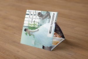 Square Trifold for Photography