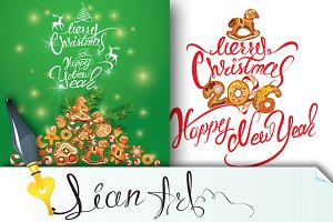 Set of 2 Greeting Cards.