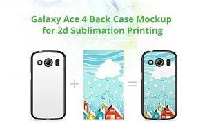 Galaxy ACE 4 2d Case Design Mock-up