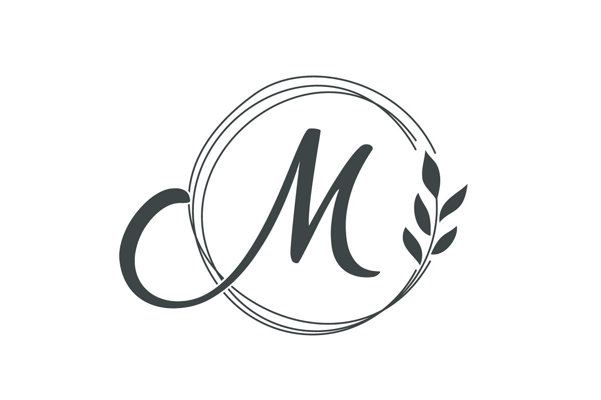 Creative Luxury Letter M Logo Design