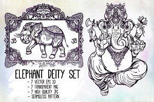 Elephant Deity Set
