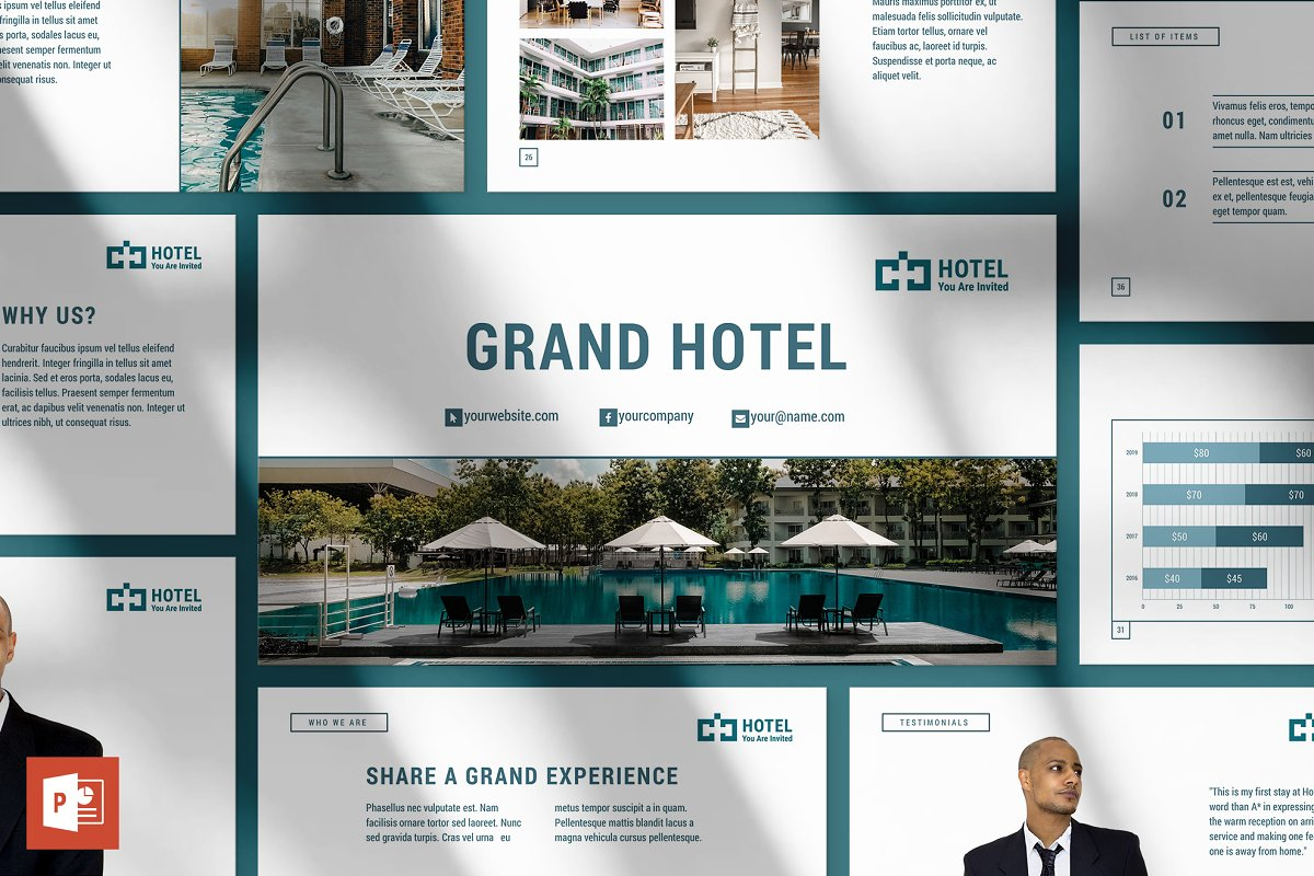Hotel Powerpoint Presentation Powerpoint Templates