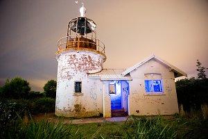 Abandoned Lighthouse Light