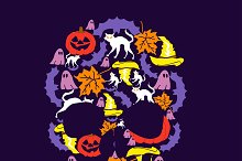 illustration,  the day of  halloween