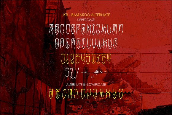 BASTARDO in Display Fonts - product preview 2