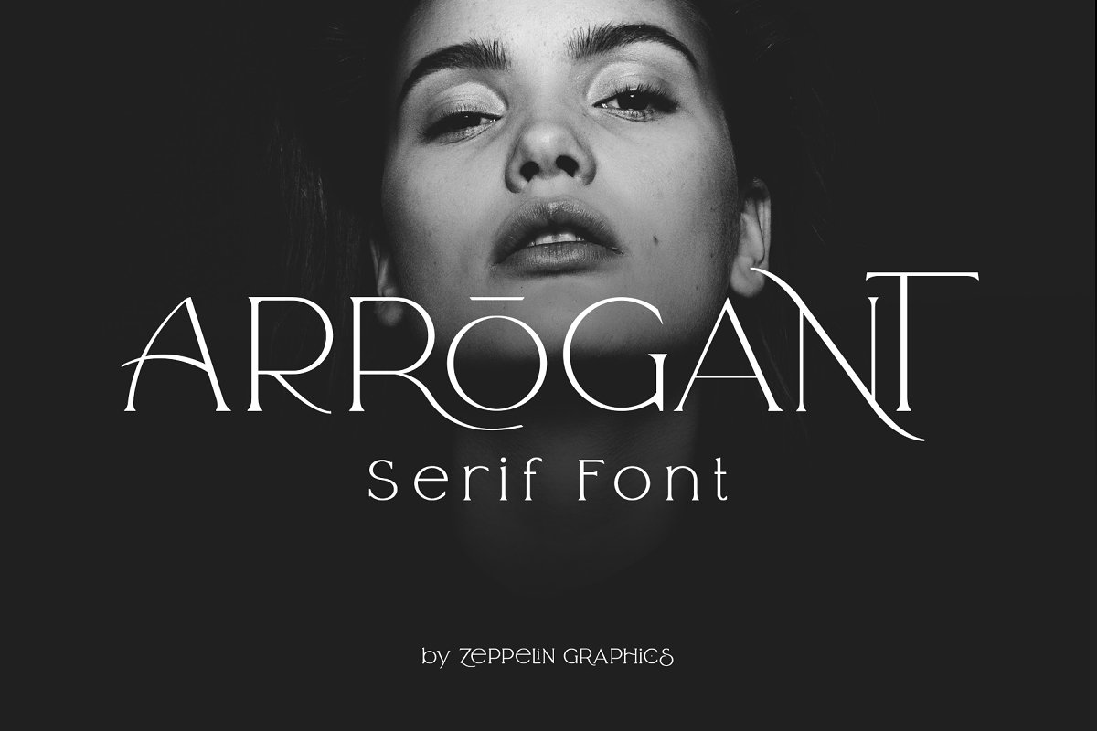 Arrogant Font in Serif Fonts - product preview 23