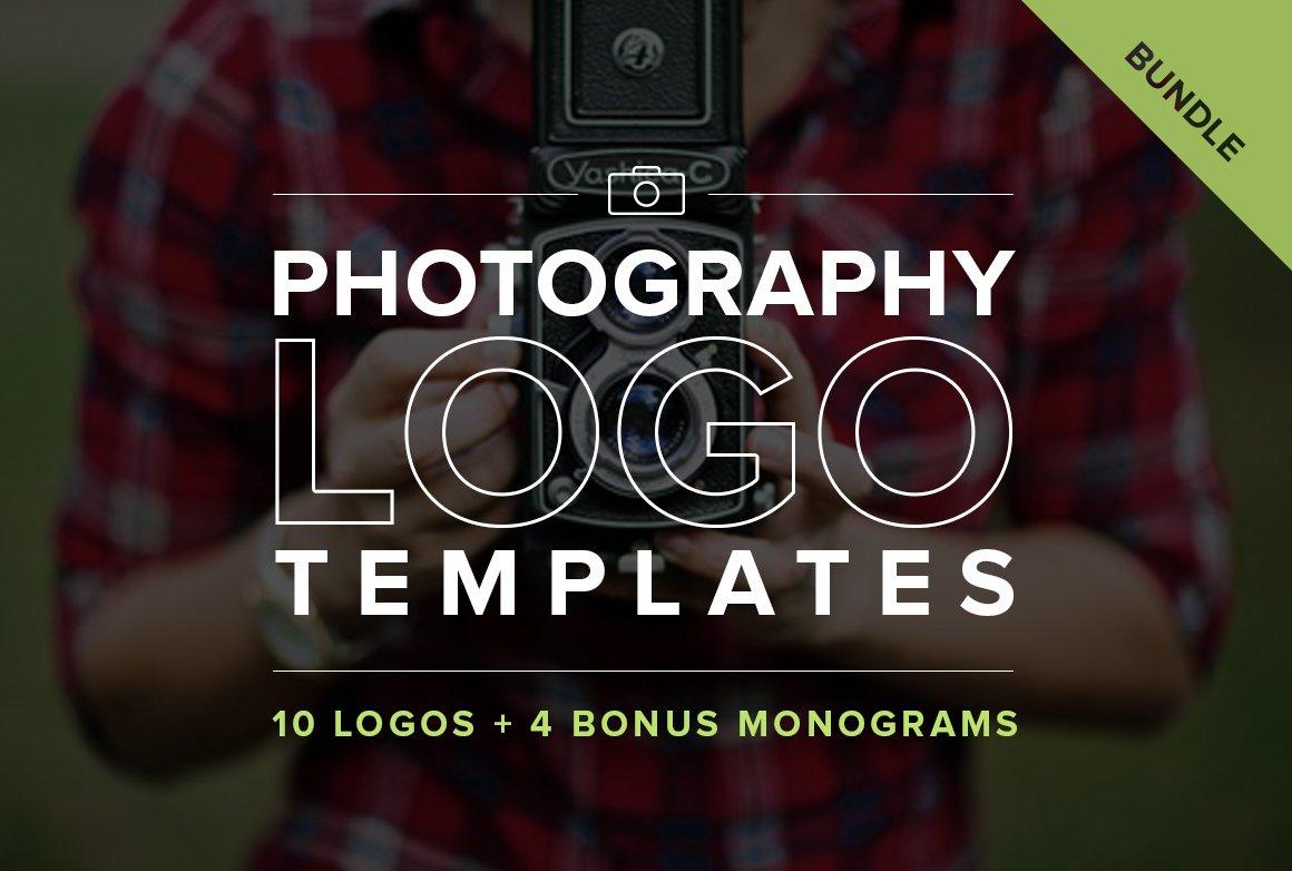 Photography Logo Templates Bundle Logo Templates