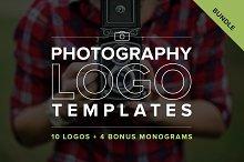 Photography Logo Templates Bundle
