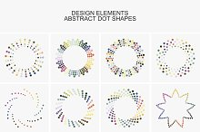 Collection of  design elements.