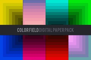 Color Field Digital Paper Pack