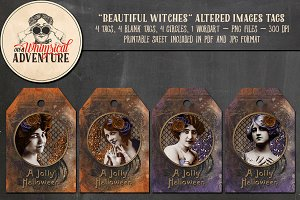 Beautiful Witches Tags