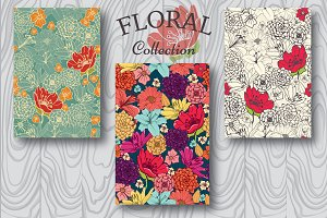 Collection of Floral Patterns