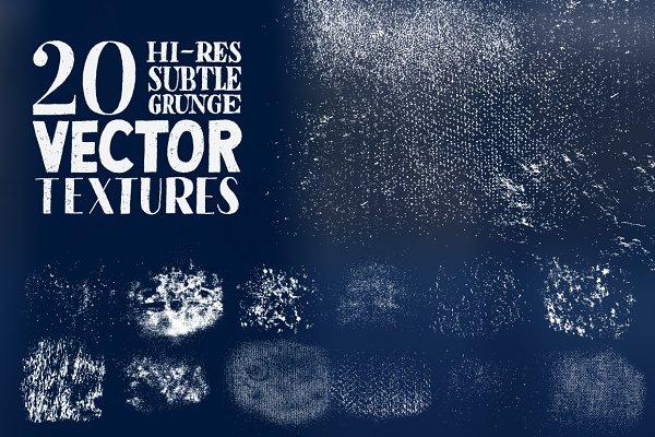 Hi-Res Subtle Grunge Vector Texture…
