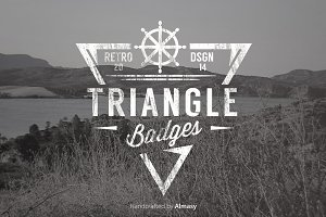 Triangle Badges Vol.1