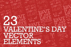 23 Valentine's Day Elements