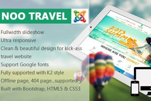 Travel - Responsive Travel Template