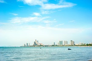 Skyline of Pattaya, Thailand