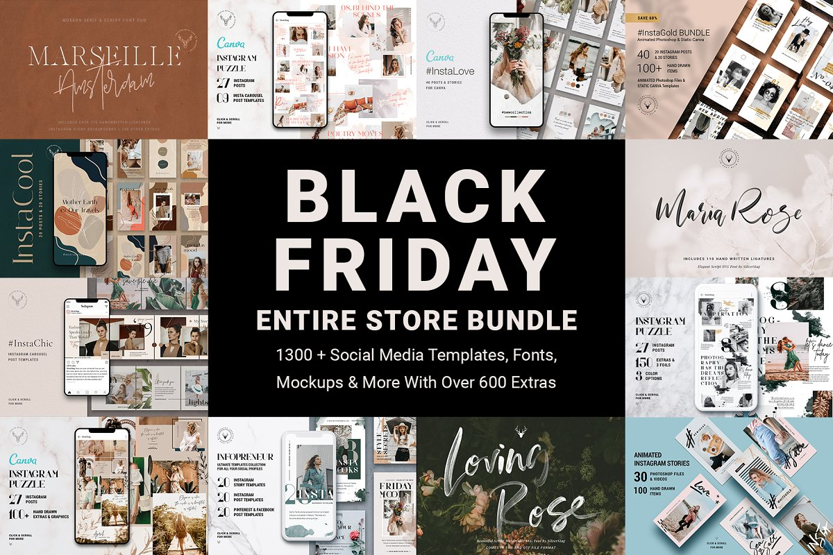 Black Friday Entire Store Bundle