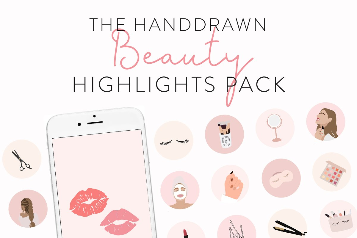 Beauty Instagram Highlight Icons