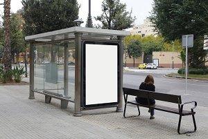 bus shelter photos graphics fonts themes templates creative market