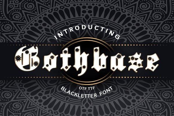 Gothbase Blackletter Font
