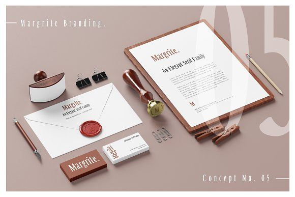 Margrite - Tall Serif Font Family in Serif Fonts - product preview 1