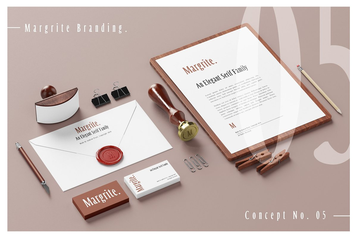 Margrite - Tall Serif Font Family in Serif Fonts - product preview 10
