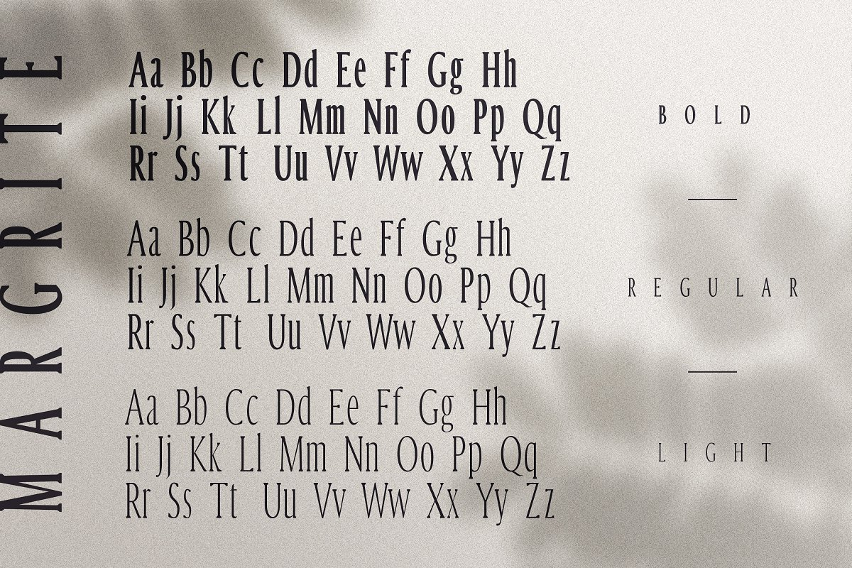 Margrite - Tall Serif Font Family in Serif Fonts - product preview 2