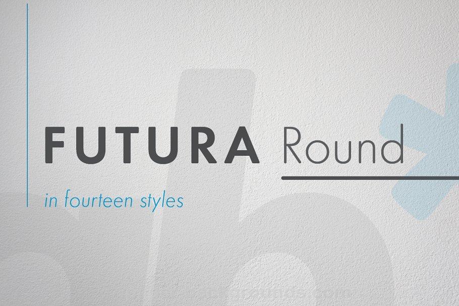 Futura Round Extra Bold Condensed ~ Sans Serif Fonts ~ Creative Market