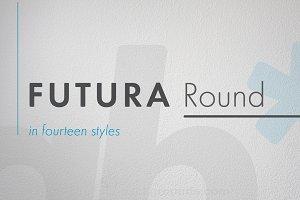 Futura Round Extra Bold Condensed