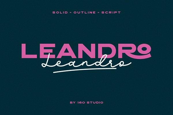 Leandro Modern Sans