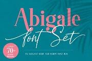 Abigale Font Duo Set