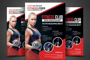 Fitness Flyer - Gym Flyer Templates