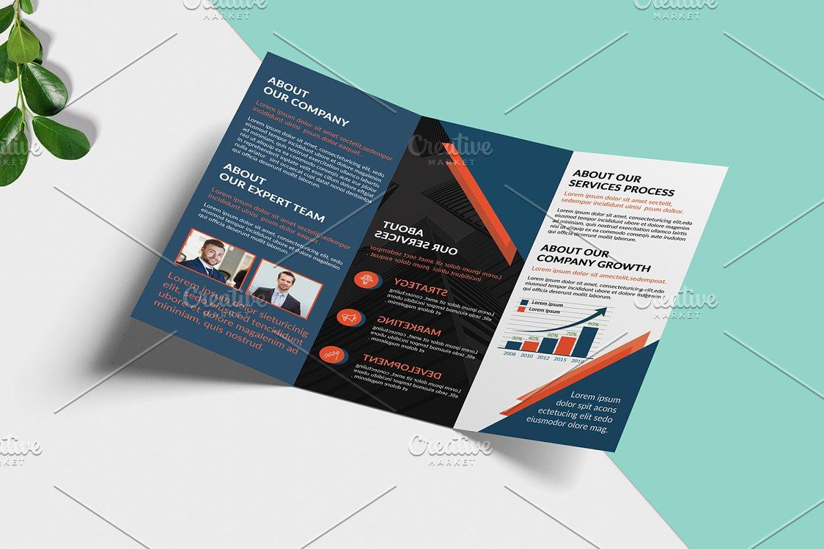 Trifold Corporate Brochure V946
