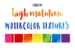 High Res Watercolor Textures Vol 1