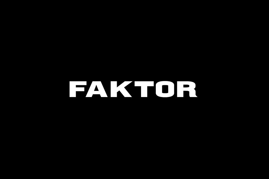 FAKTOR - Display / Headline Typeface