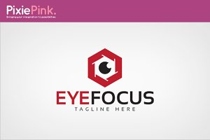 Eye Focus Logo Template