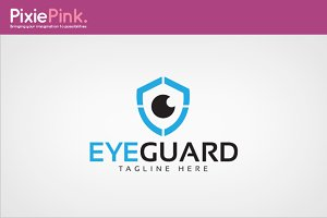 Eye Guard Logo Template